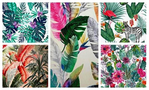 New Nordic Style Flamingo Flower Diamond Painting