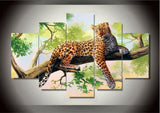 5pc/Set Gorgeous Leopard Diamond Painting