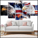 5pc/Set Eagles, Cats, & Horses DIY Diamond Painting