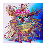 Special Shaped Diamond Painting  Fancy Owl