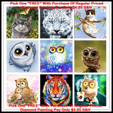 Diamond Painting Cartoon Cute Pets