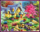 New Garden House Diamond Embroidery