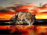 Stunning Leopard Diamond Painting