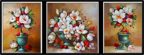 3PC/Set Of Lily Flowers Diamond Painting