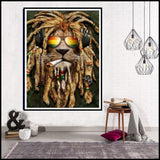 """Marley Lion"" Diamond Embroidery"