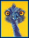 3 Crazy Ostriches Diamond Painting