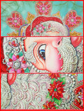 """New"" Santa In Crystal & Special Drill Diamond Painting"