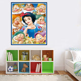 Snow White & Seven Dwarfs Diamond Embroidery