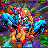 5D DIY Diamond Spiderman Diamond Painting