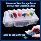 New Diamond Painting Storage Box
