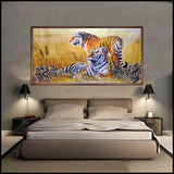 New Beautiful Tigers Diamond Embroidery