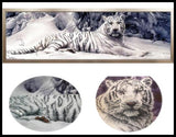 5D White Snow Tiger