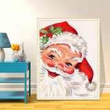 5D Rhinestone Diamond Embroidery Santa Claus