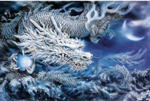 """New""5D DIY Diamond Painting ""China Dragon"""