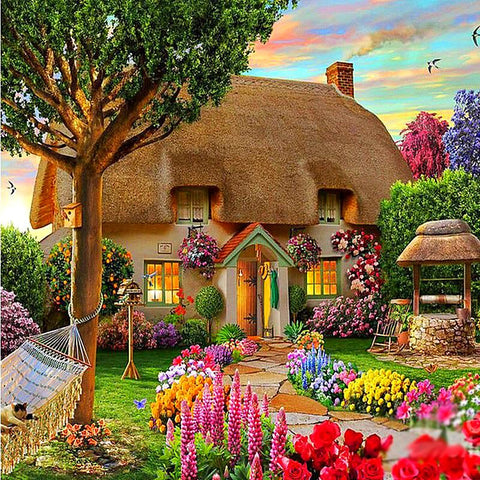 Dream Cottage Diamond Embroidery