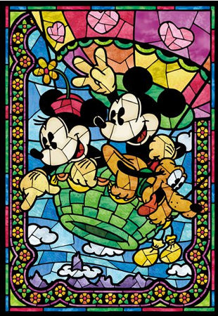 Disney Stain Glass Diamond Painting