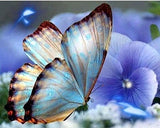 Butterfly 5D Full Square Diamond Drill Painting