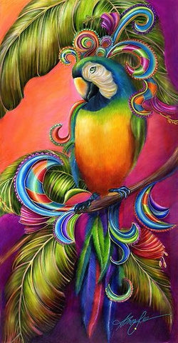 5D DIY Parrot Diamond Painting