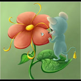 """Hot ""Flower & Mouse"""