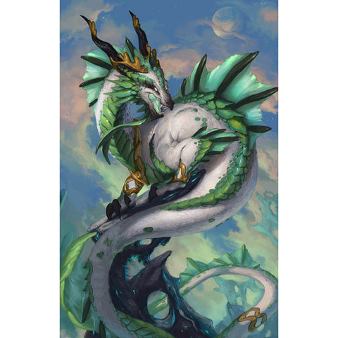 HOT! Green Dragon Diamond Painting