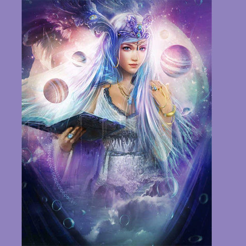 """New"" 3D Diamond Painting Constellation Queen"