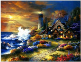 Seaside Home Diamond Painting