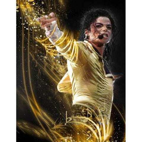 New Michael Jackson Diamond & Rhinestone Painting