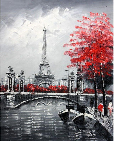 Eiffel Tower Diamond Painting
