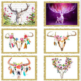 """New"" Deer Head Diamond Paintings"