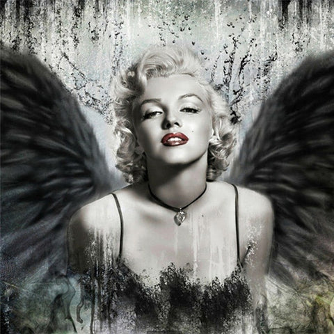 Marilyn Monroe Rhinestone Diamond Embroidery Painting