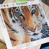 Crystal Tiger Diamond Painting