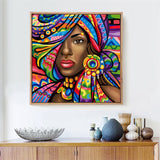 Portrait Of a Beautiful Women Diamond Painting