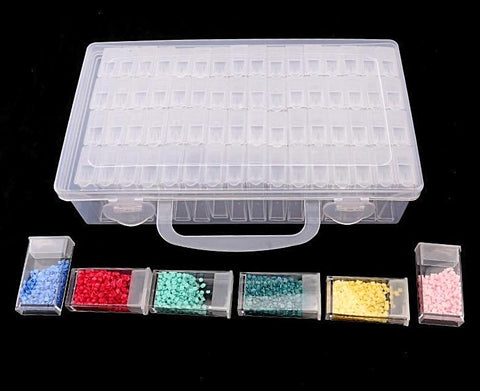 64 Grid Diamond Drill Storage Box