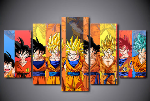 5pc/Set Dragon Ball Z Diamond Painting