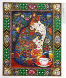 Beautiful Cat Special Drill Diamond Painting