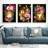 5D DIY Diamond Painting Flowers