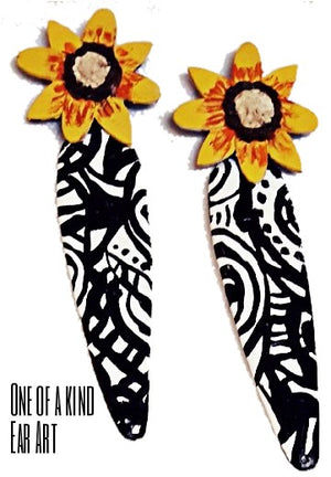 Sunflower bohemian vibes boho chic afro bohemian fashion and accessories