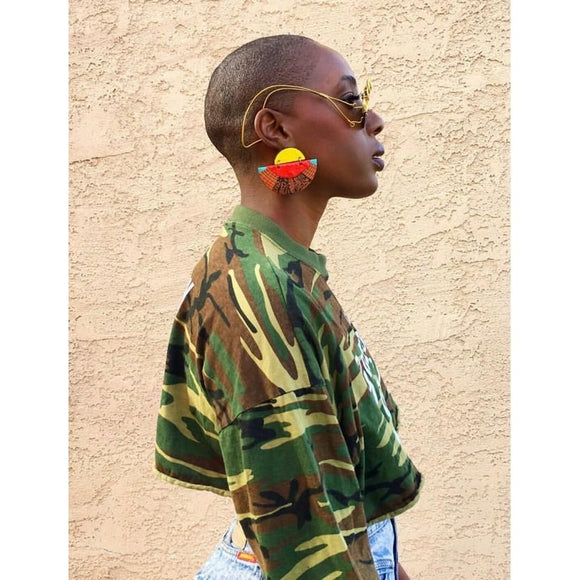 earrings featured on Afropunk
