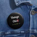 Vintage Chic~Pin Buttons