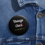 Vintage chic•Pin Buttons