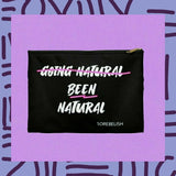 been natural going natural clutch bag