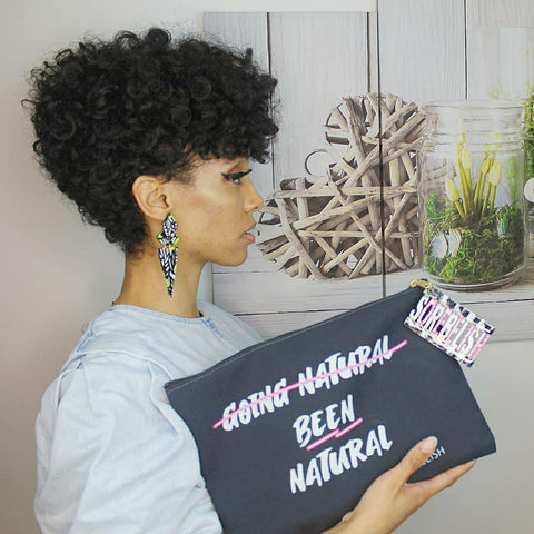 B̶e̶e̶n̶ n̶a̶t̶u̶r̶a̶l̶ •Going natural•clutch bag