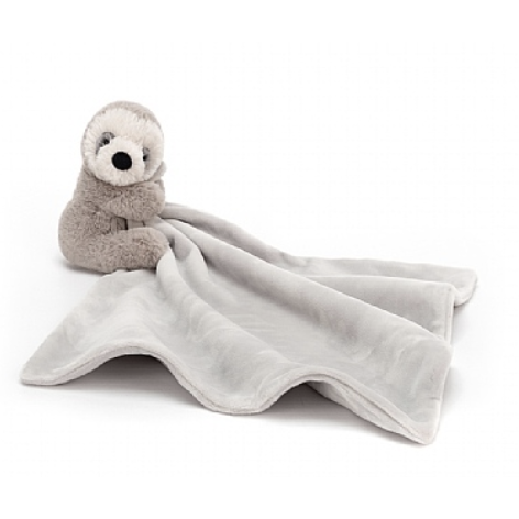 Jellycat Shooshu Sloth Soother - Baby Laurel & Co.