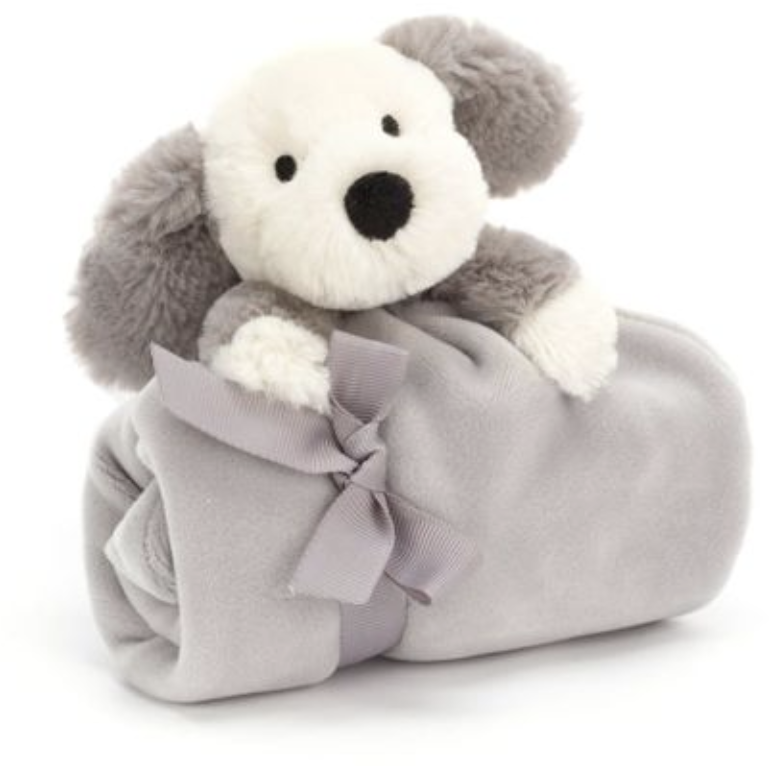 Jellycat Shooshu Puppy Soother - Baby Laurel & Co.