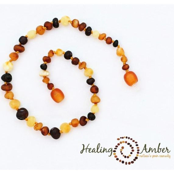 Healing Amber Necklace 13 inches