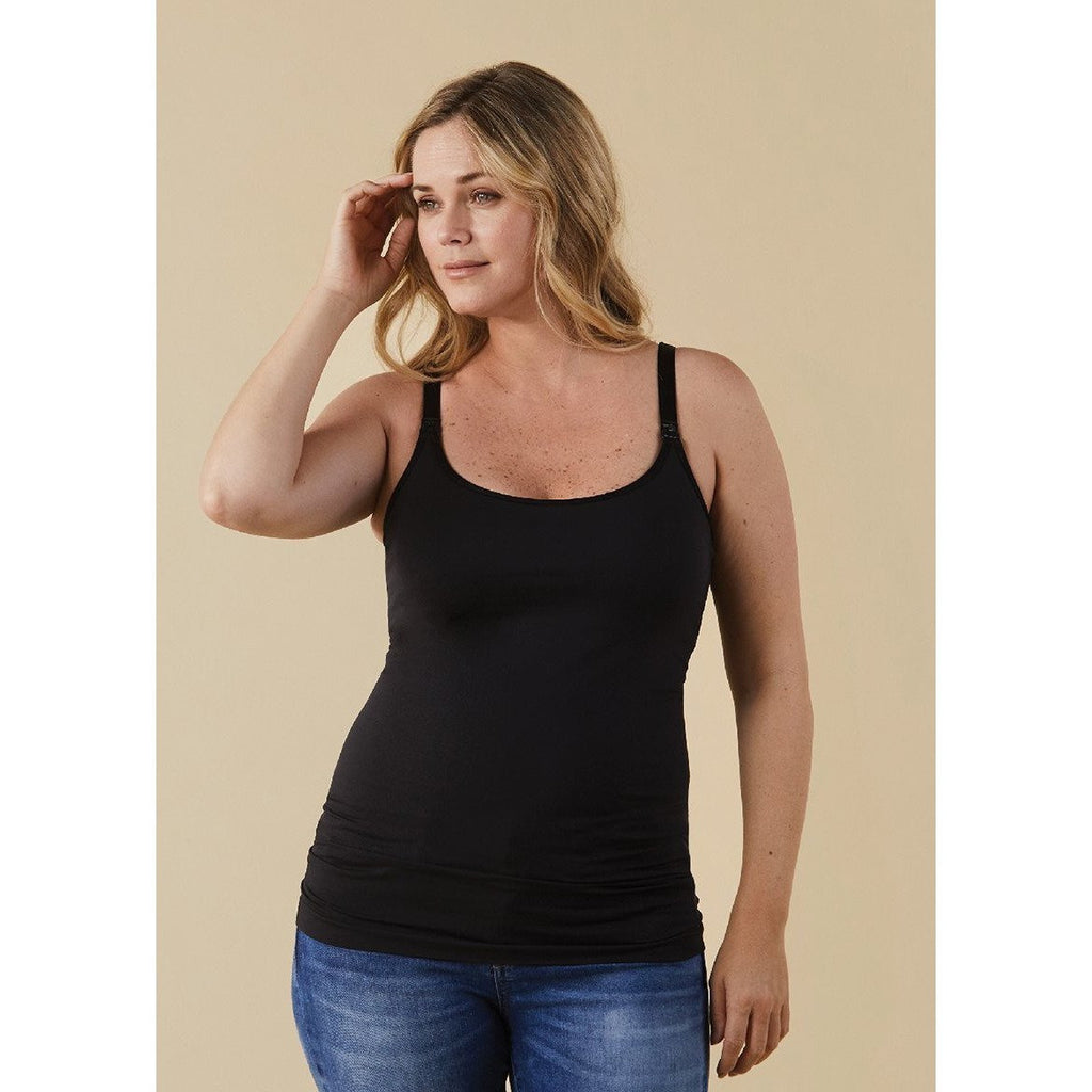 Bravado Nursing Cami- Black - Baby Laurel & Co.