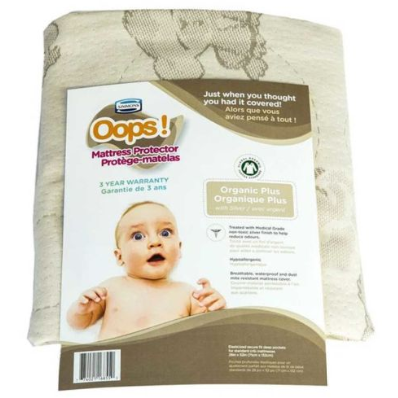Oops Organic Cotton Plus Mattress Protector