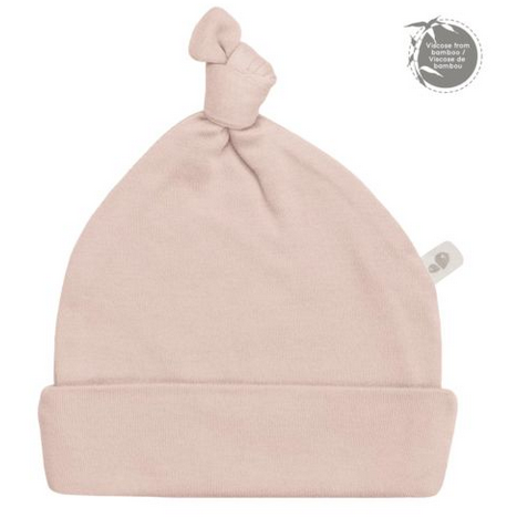 Perlimpinpin Bamboo Knotted Hat - Dusty Rose