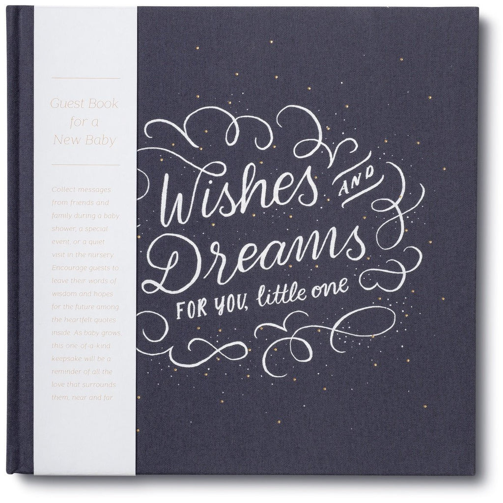 Wishes & Dreams for You, Little Ones- New Baby Guest Book - Baby Laurel & Co.