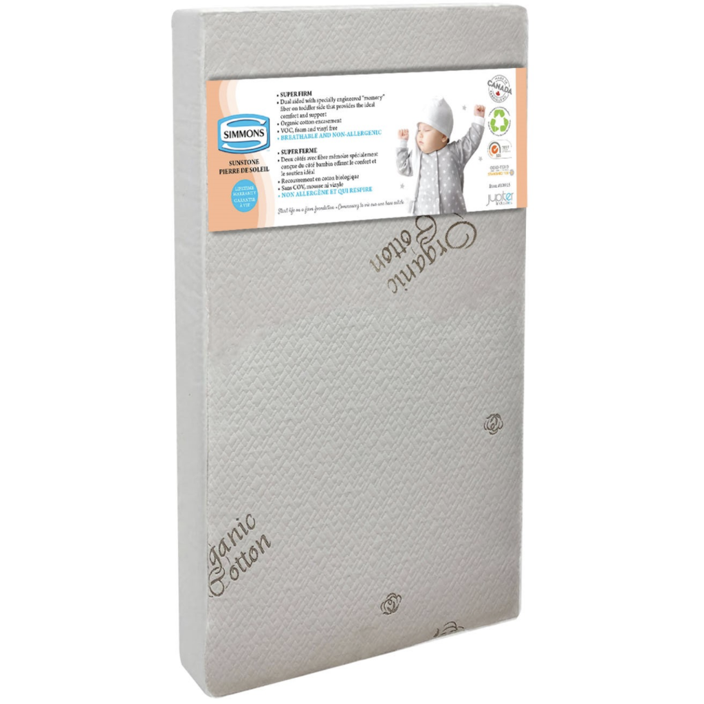Simmons Sunstone Super Firm Core Crib Mattress